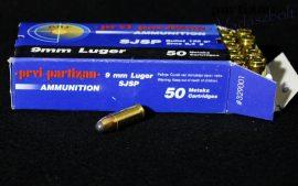 9 mm Para / 8,42 g - 130 grs / SJSP ( A-329 )