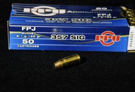 .357 SIG / 8,1 g - 125 grs / FPJ ( A-446 )