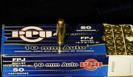 10 mm Auto / 12,3 g - 190 grs / FPJ ( A-195 )