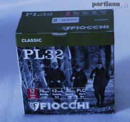 .12 Cal / 32 g / 3,3 mm / PL 32 ( 12/70) 3 PLC*  Fiocchi