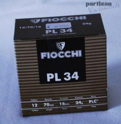 .12 Cal / 34 g / 3,1 mm / PL 34 ( 12/70) 4 PLC*  Fiocchi