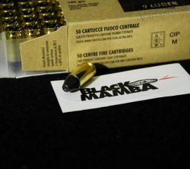 9 mm Para / 6,4 g / 100 grs / FMJ Black Mamba / FMJ / FIOCCHI