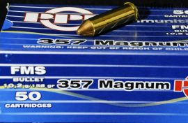 .357 Mag. / 10,2 g - 158 grs / FMS Spitz ( A-111 )