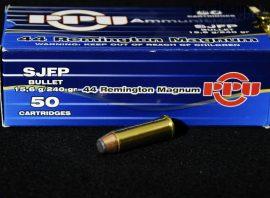 .44 Mag. / 15,6 g - 240 grs / SJFP ( A-359 )