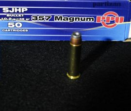 .357 Mag. / 10,2 g - 158 grs / SJHP Hollow Point ( A-135 )