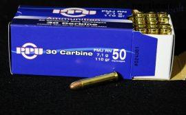 .30 Carbine / 7,10 g - 110 grs / VM - FMJ RN ( A-024 )