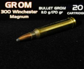 .300 Win. Mag. / 11,0 g - 170 grs / GROM ( A-377 )