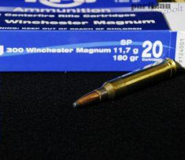 .300 Win. Mag. / 11,7 g - 180 grs / TM - SP ( A-124 )