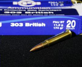 .303 British / 11,3 g - 174 grs / VM - FMJ BT ( A-143 )