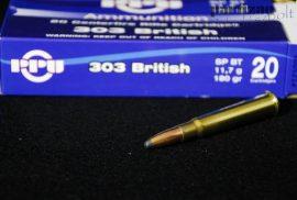.303 British / 11,7 g - 180 grs / TM - SP ( A-125 )