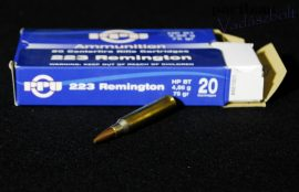 """.223 Rem. / 4,86 g - 75 grs / HP BT * ( A-481 )*=for 9"""" Twist or faster"""