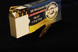 .308 Win. / 11,34 g - 175 grs / VM - FMJ BT ( A-500 ) Match-Line
