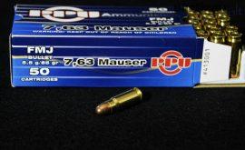 7,63 Mauser / 5,5 g - 85 grs / FMJ ( A-413 )